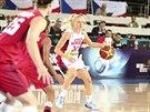 České basketbalistky v duelu s Kanadou nestíhaly a prohrály rozdílem třídy