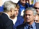 SPOR STRATÉGŮ. Londýnské derby mezi Chelsea a Arsenalem bylo hodně emotivní pro...