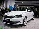 Škoda Fabia Combi při premiéře na autosalonu v Paříži