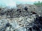Jeden z mnoha masových hrobů, kde končili skuteční i domnělí odpůrci diktatury...