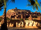 Marocká pevnost Aït Benhaddou se proměnila v město Yunkai, které se...