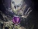 Jeskyn� Mamet v chorvatském poho�í Velebit je hluboká 206 metr�.