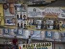 Předvolební kampaně doslova zaplavily ulice. Chudinské čtvrti brazilské...