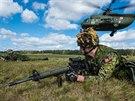 Kanadští vojáci během cvičení Anakonda v Polsku