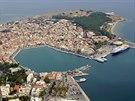 Hlavní město a přístav ostrova Lesvos - Mytilini