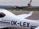 Provoz na letišti v Soluni