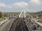 Trojský most a tunel Blanka se při dni otevřených dveří otevřely veřejnosti.