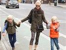 Naomi Wattsová se svými syny