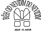Logo závodu BĚH OD NEVIDIM DO NEVIDIM.