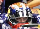 PŘIPRAVENÝ. Max Verstappen při svém debutu ve Velké ceně F1.