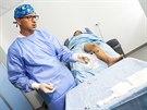 K operaci se používá speciální katétr, který žílu uzavírá pomocí...