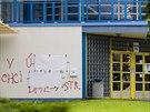 Nápisy mířené proti starostovi v Třebechovicích pod Orebem se objevily i na...