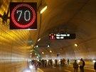 Dalším nástrojem řízení jsou proměnlivé dopravní značky