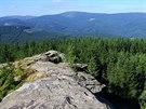 Výhled z Žárového vrchu