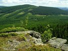 Žárový vrch a Sedlová bouda z Lyry