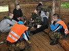 V rámci certifikačního cvičení pro misi v Afghánistánu museli vojáci zvládnout...