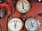 Po velké opravě za 3,5 milionu se na koleje vrací parní lokomotiva Rosnička...