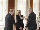 Prezident Milo� Zeman jmenoval Karlu �lechtovou do funkce ministryn� pro m�stn�