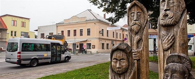 M�stská hromadná doprava v T�ebechovicích pod Orebem zahájila zku�ební provoz...