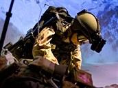 Bitva na Takur Ghar se stala součástí americké vojenské mytologie. Na snímku je...