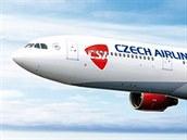 Největším letadlem ve flotile ČSA je dálkový Airbus A330 pronajatý od května...