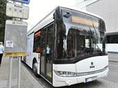 První zku�ební jízda elektrobusu v Plzni.