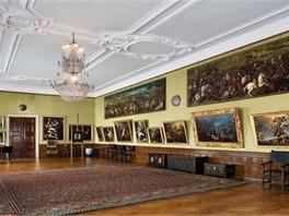V colloredo-mansfeldské obrazárně si můžete prohlédnout téměř pětistovku maleb