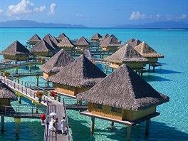 Intercontinental Le Moana – Bora Bora (Francouzské Polynésie)