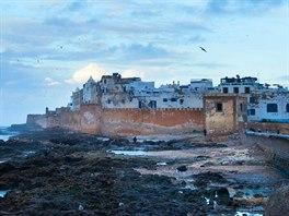 Marocké pobřežní město Essaouira je směsicí arabské a evropské architektury.
