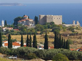 Městečko a pevnost Pythagorion