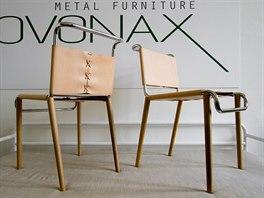Židle od Rudolfa Netíka pro Kovonax