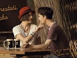 Jan Komínek v reklamě na Kofolu