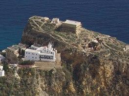 Město Skyros na stejnojmenném ostrově, nejjižnější ze Sporadských ostrovů