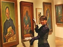 Loňský rok patřil hlavně výstavě Zářivý krystal mapující dílo Bohumila Kubišty.