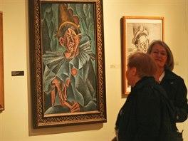 Ostrava pořádá v Domě umění mimořádnou výstavu díla Bohumila Kubišty. Hodnota obrazů je nevyčíslitelná, bezpochyby se pohybuje přes miliardu korun. (2. října 2014)