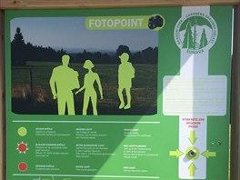 Deset fotopointů stálo na turisty oblíbených místech Šumavy.