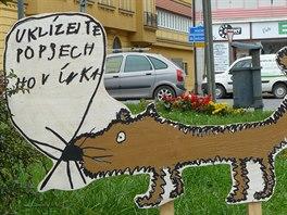 Děti ze Základní umělecké školy v Polici nad Metují vytvořily obrázky, které...