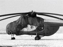 Agrolet provozoval i malé množství vrtulníků typů Mi-1 a Mi-4. Větší Mi-4 (viz....