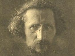 Josef Váchal na snímku Jindřicha Bufky z roku 1911 (z publikace Magie hledání)