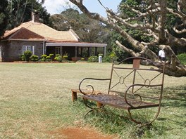 Dům Karen Blixenové se nachází nedaleko keňského hlavního města Nairobi