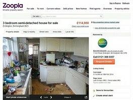 Realitní makléř nenutil majitele, aby uklidil. Dobře věděl, že se špinavý dům za nabízenou cenu rychle prodá.