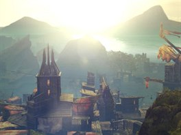 Občas hra ukáže i úchvatná panorámata.