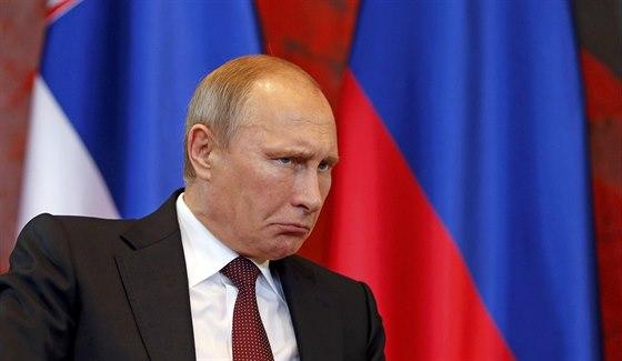 Ruský prezident Vladimir Putin (16. října 2014)