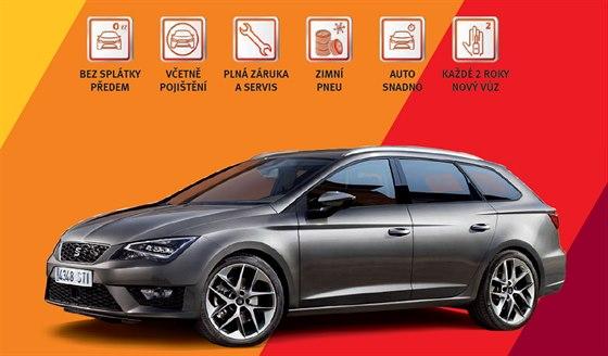 Se službou SEAT OLÉ pořídíte nový SEAT Leon měsíčně již od 8.499 Kč* | foto:...