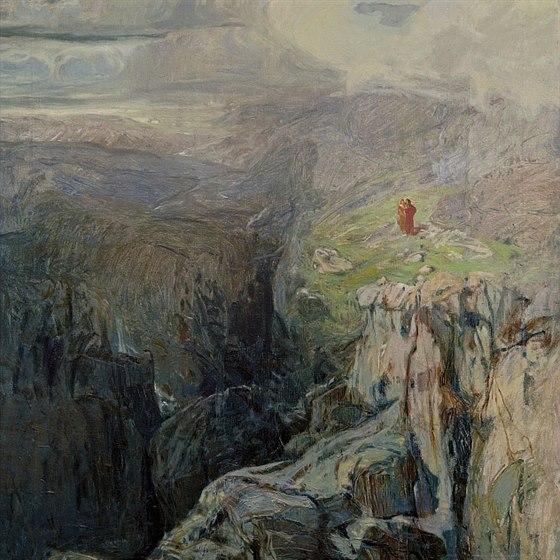 Alois Kalvoda, Fantastická krajina
