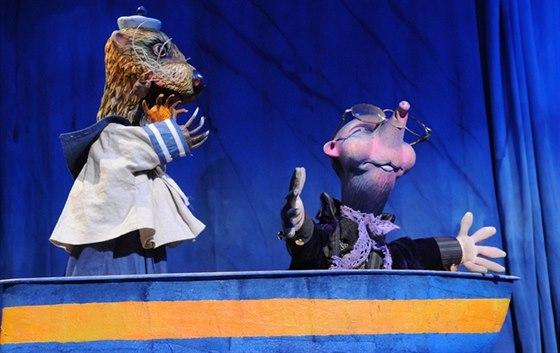 Z repertoáru Divadla Alfa se v programu objeví také pohádka Žabákova...