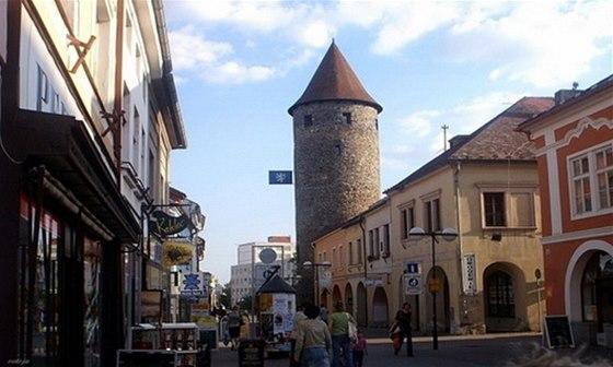 Věž, zvaná Otakarova bašta, je součástí čáslavského městského opevnění