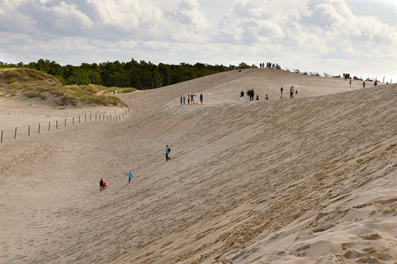 Łacka Góra. Nejvyšší písečná duna ve Słowińskémnárodním parku