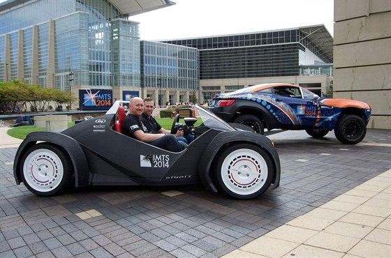 Strati je prvn� auto vyroben� v 3D tisk�rn�, kter� by mohlo z�skat homologaci...