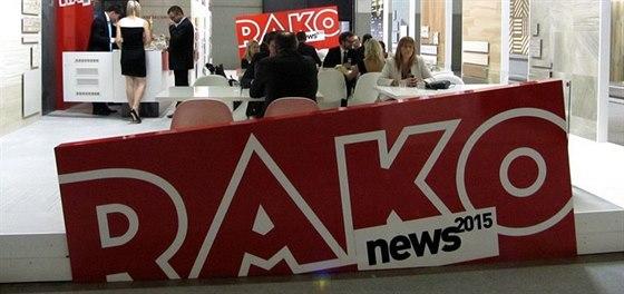 Český výrobce RAKO se prezentuje na veletrhu Cersaie už pravidelně.